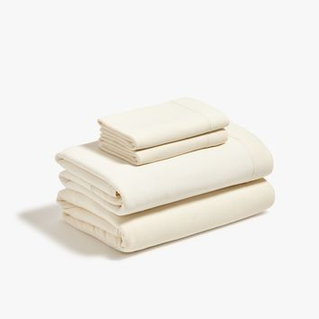 Beige Jersey Sheet Set