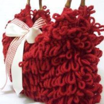 NzLbags SHOULDER Bag HANDBAG Every Day Shaggy Knitted by NzLbags