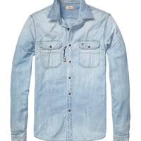 Worker Denim Shirt - Scotch & Soda