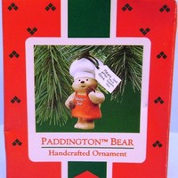 1987 Paddington Bear Hallmark Ornament
