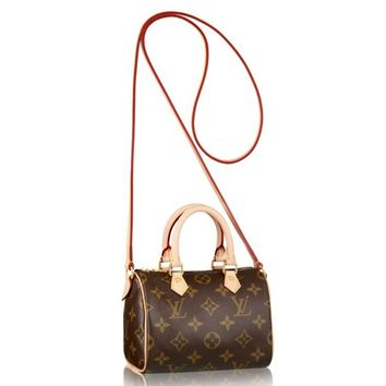 Replica Louis Vuitton Nano Speedy Monogram Canvas M61252