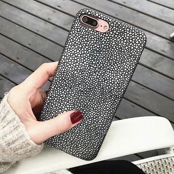 Luxury Bling Shining Fish Scales Laser Colorful Soft Case For iPhone 7 6 6S Plus Cover Glitter Sequins aurora Phone Cases Shell