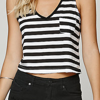 LA Hearts V-Neck Cropped Top at PacSun.com