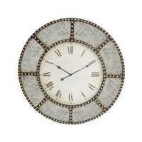 Cassidy Studded Wall Clock