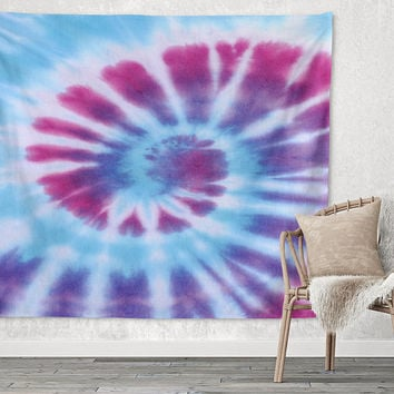 Hippie Dreams Bright Multi Color Trendy Boho Wall Art Home Decor Unique Dorm Room Wall Tapestry Artwork