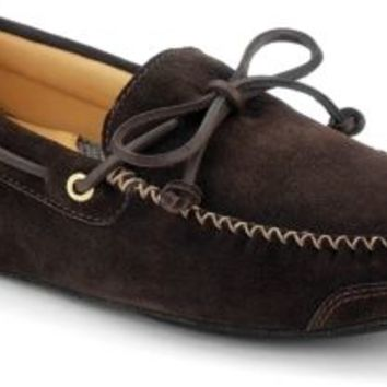 Sperry Top-Sider Gold Cup 1-Eye Slipper DarkBrown, Size 12M  Men's Shoes