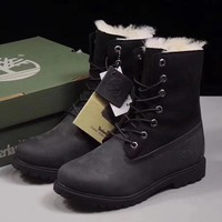 Timberland Women Fashion Wool Snow Boots Shoes