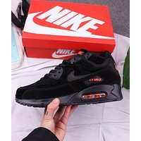NIKE Air Max 90 Classic Men Retro Air Cushion Sport Running Shoes Sneakers