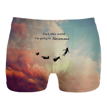 I'm going to neverland underwear