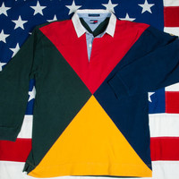 TOMMY HILFIGER Rugby Shirt Size L