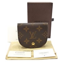 Auth LOUIS VUITTON Porte Monnaie Gousset Coin Purse Monogram M61970 #K110074
