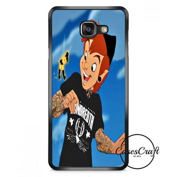 Peter Pan And Tinkerbell With Tattoo Samsung Galaxy A7 Case | casescraft
