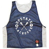 Upstate New York Lacrosse Reverisibe Lax Pinnie