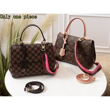 LV Hot Selling Ladies'Printed Single Shoulder Bag Fashion Colour Shopping Bag High-quality
