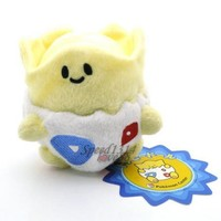 "4"" Pokemon TOGEPI Plush Toy Doll New Rare #PC1791"