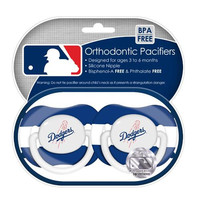 2-Pack Pacifiers - Los Angeles Dodgers