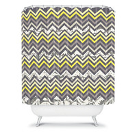 DENY Designs Home Accessories | Arcturus Chevron Shower Curtain
