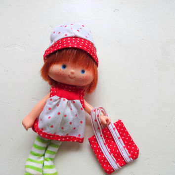 Vintage Strawberry Shortcake Doll 1980s