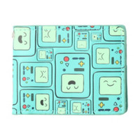Adventure Time BMO Faces Bi-Fold Wallet