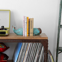 Whale Bookend - Set Of 2 - Urban Outfitters