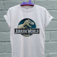 Design Jurassic world For T-Shirt Unisex Adults Size S-2Xl