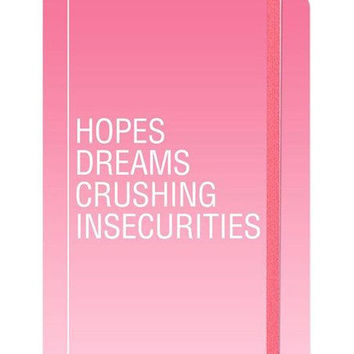 Molly and Rex journal - hopes dreams crushing insecurities