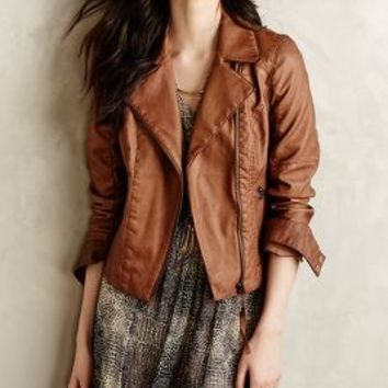 Perfed Vegan Leather Moto Jacket
