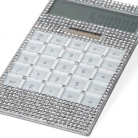 Crystal Calculator | Desk-organization | Accessories | Z Gallerie