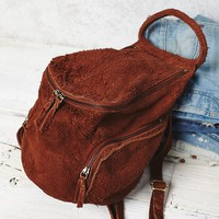 Free People Royale Distressed Backpack