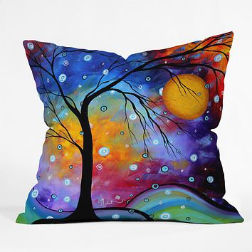 Madart Inc. Winter Sparkle Throw Pillow