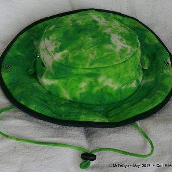 Outback Canvas Tie-Dye Hippie Hat