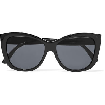 Le Specs Hatter square-frame acetate sunglasses – 50% at THE OUTNET.COM