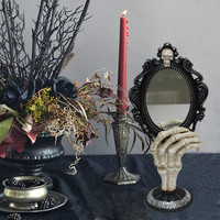 Tabletop Mirror with Hand On Stand By Ashland®