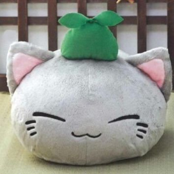 Furyu Nemu Neko Big X Big Plush - Grey Cat