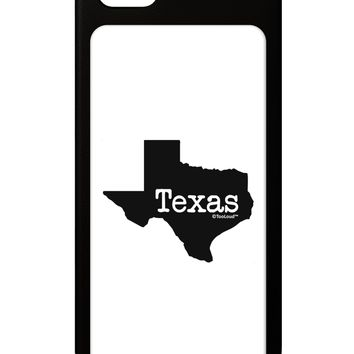 Texas - United States Shape iPhone 5 / 5S Grip Case  by TooLoud