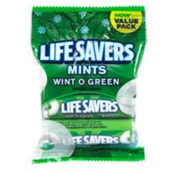 LIFE SAVER IN MINTO GREEN