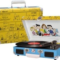 Crosley Peanuts Record Player | Turntable With Peanuts Print