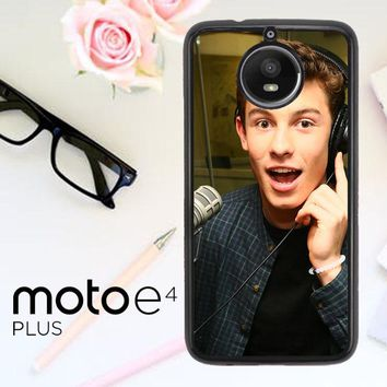 Shawn Mendes Y1145 Motorola Moto E4 Plus Case