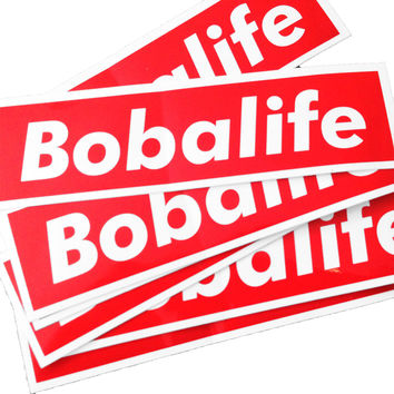Bobalife Stickers
