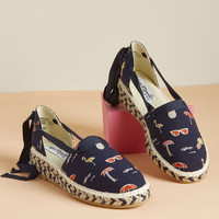 Is It Wharf It? Espadrille Wedge