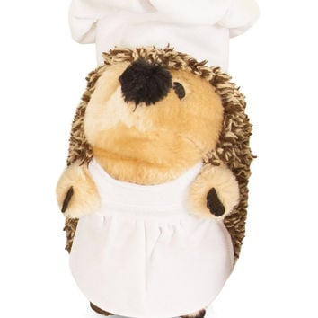 Petmate Heggie Plush Dog Toy Cooking Chef