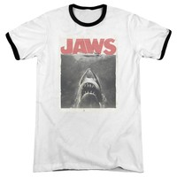 Jaws - Classic Fear Adult Ringer