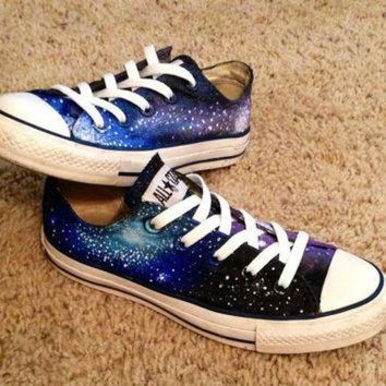CREYUG7 Galaxy Converse Shoes by DonishDesigns on Etsy
