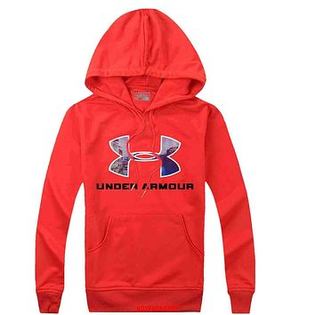 Under Armour Women  Men Casual Long Sleeve Top Sweater Hoodie Pullover Sweatshirt