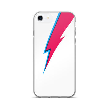 Bowie Facepaint Lightning Bolt iPhone 7/7 Plus Case