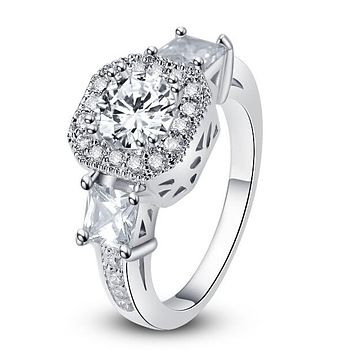 Exotic Crystal Ring