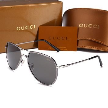 GUCCI Fashion Popular Sun Shades Eyeglasses Glasses Sunglasses