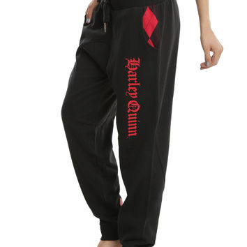 DC Comics Harley Quinn Girls Jogger Pants
