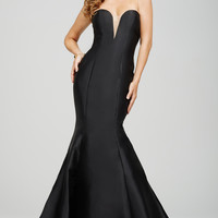 Black Strapless Sweetheart Dress 31508
