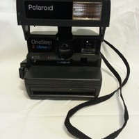 Polaroid One Step closeup
